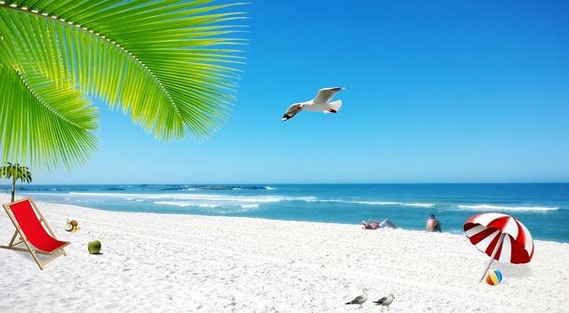 10 przykazań z dzieckiem na plaży