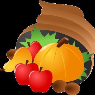 Bąbelki poznają dary jesieni