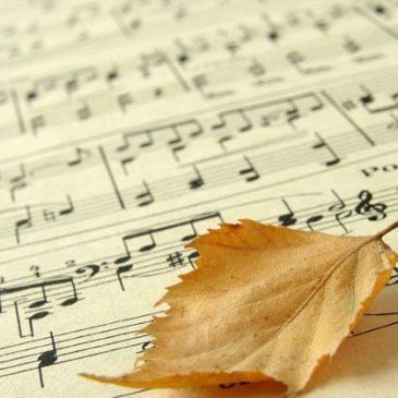 Kap, kap, kap… jesienna muzyka