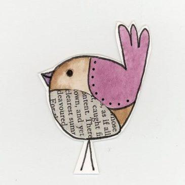 Praca plastyczna – ptaszki i karmik