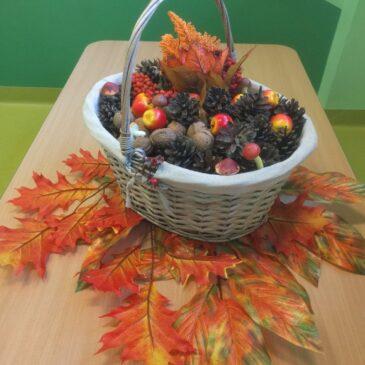 Praca Plastyczna – Pani Jesień