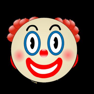 Praca plastyczna – Wesoły klaun