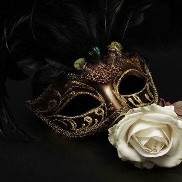 Praca plastyczna maska karnawałowa