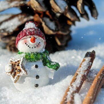 Zajęcia sensoryczne ze sztucznym śniegiem